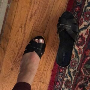 Nine west sandal wedges